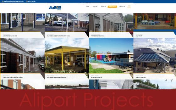 Aliport Commercial - Website Development - Shoreham, West Sussex