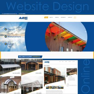 Aliport Commercial - Website Development - Shoreham, West Sussex