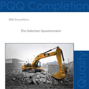 JEM Demolition - Pre-Qualification Questionnaire - London