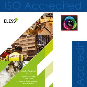 Eless Decommissioning - ISO Accreditation Management - London