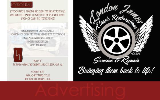 London James - Marketing and Branding - Maldon, Essex