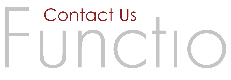 Contact Functio about your business - Storrington, West Sussex.